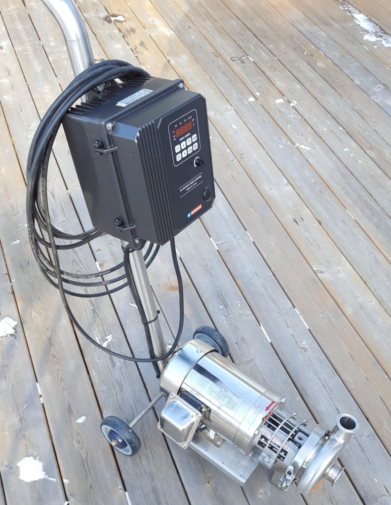 Portable CIP Pump