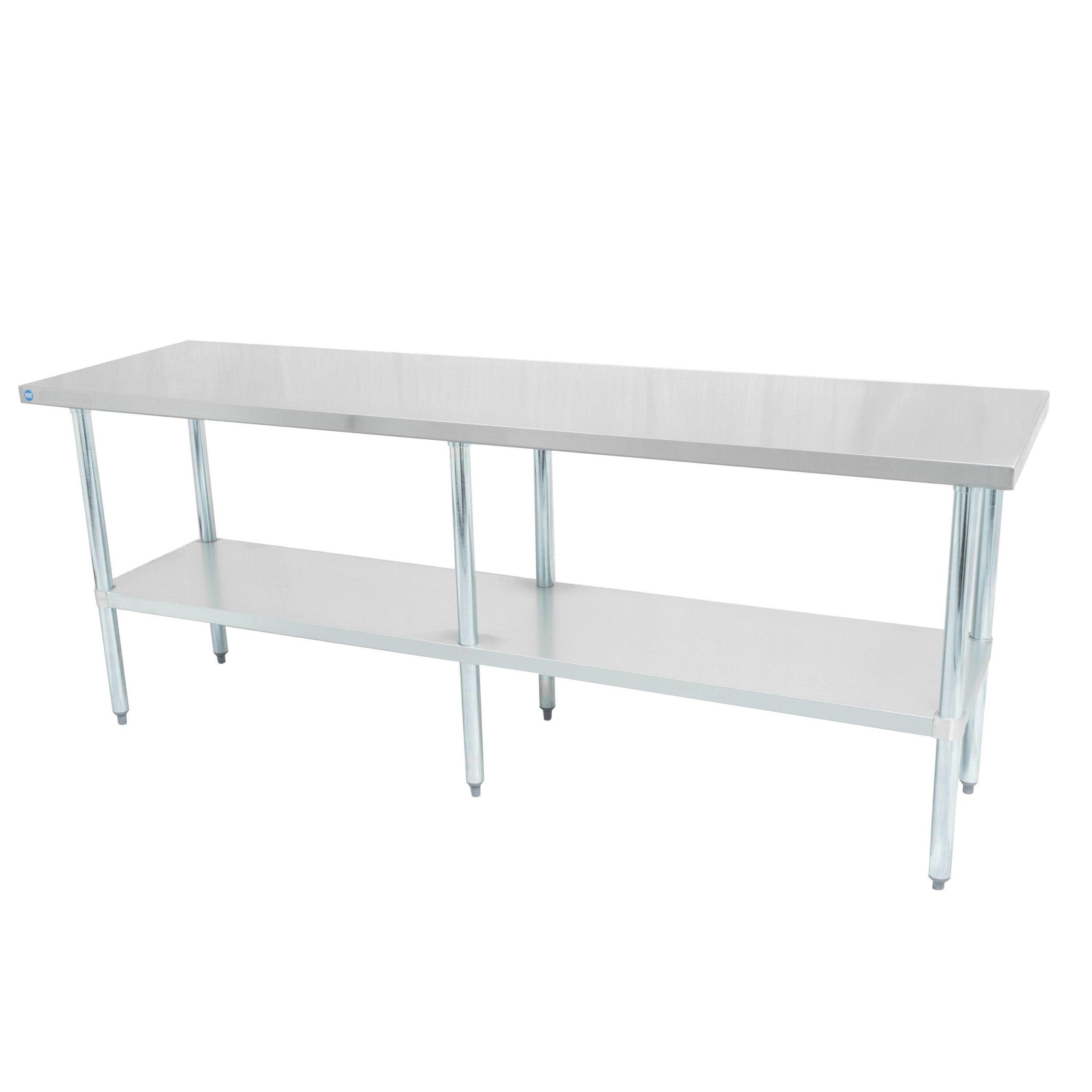 Stainless / Galvanized Worktable